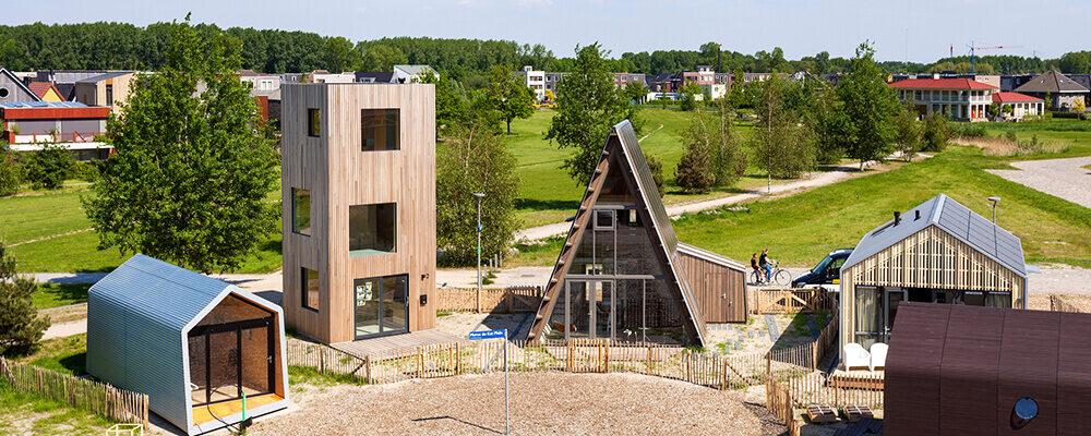 Innovatieve woningen in Almeerse woonwijk