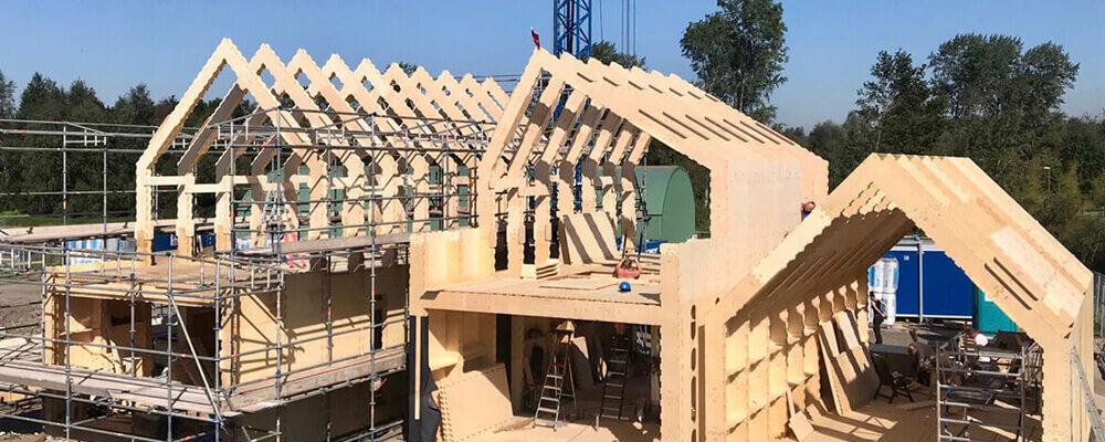 Zelfbouw WikiHouse huizen